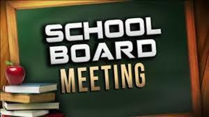 Board Meeting Monday March 8- live and virtual!