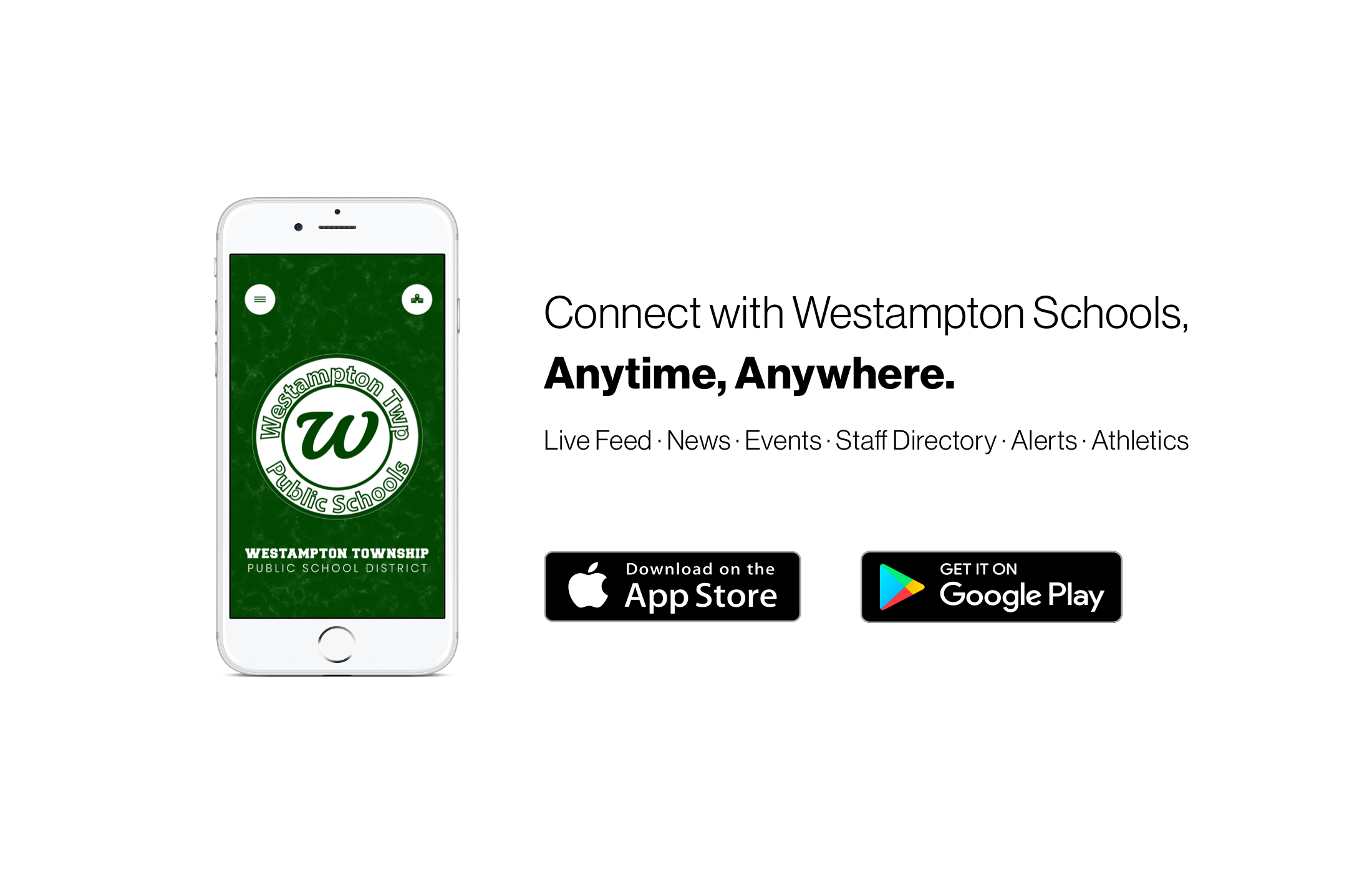 Connect with Westampton Schools